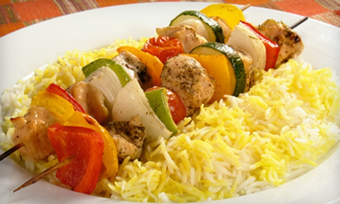 Suzie's Grill - Meyerland Area: Mediterranean Food at Suzie's Grill Restaurant (Half Off). Two Options Available.