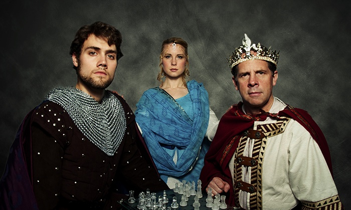 """""""Camelot"""" - East Watertown: New Repertory Theatre's """"Camelot"""" atThe Arsenal Center for the Artson November 23–December 1 (Up to 51% Off)"""