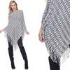 White Mark Nixie Women's Poncho