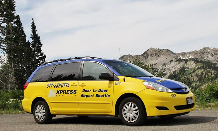 Express Shuttle - Salt Lake City: One-Way Airport Trip in Shared Shuttle or Private Vehicle from Express Shuttle (Up to 42% Off)