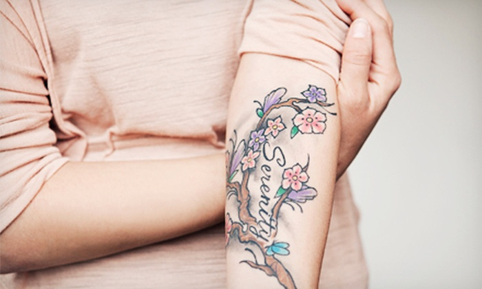 """Lexington Family Medicine - Fayette Mall: Tattoo-Removal Treatment for an Area Up to 4""""x4"""", 8""""x8"""", or 16""""x16"""" at Lexington Family Medicine (Up to 67% Off)"""