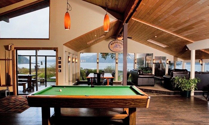 Big Fish Lodge - Port Renfrew: 2-Night Stay for Two at Big Fish Lodge (50% Off)