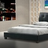 Tufted Hauten Platform Queen Bed