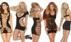 Elegant Moments Black Mini Dresses. Plus Sizes Available