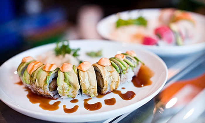 Maguro: Sushi & Steakhouse - North Naples: $10 for $20 Worth of Japanese Cuisine for Dinner at Maguro: Sushi & Steakhouse