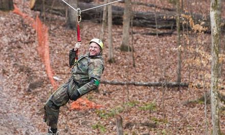 Zipline Experience for One or Two at Xtreme Ziplines (Up to 52% Off)