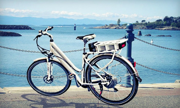 Switch Bridge Tours - Victoria: 2.5-Hour Electric Bike Tour for One, Two, or Four from Switch Bridge Tours (Up to 62% Off)