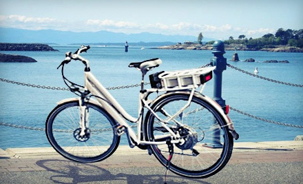 2.5-hour Elite Electric Bike Tour for One ($99 value) - Switch Bridge Tours in Victoria