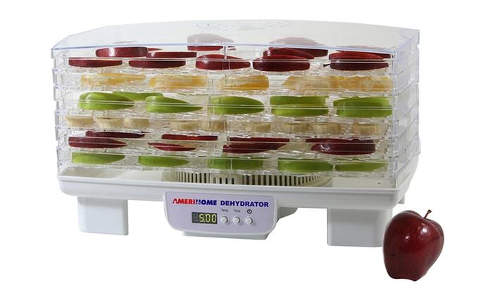 6-Tray Electric Food Dehydrator: 6-Tray Electric Food Dehydrator