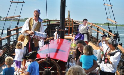 image for Pirate Cruise for Two or Four at Dark Star Pirate Cruises (Up to 39% Off)