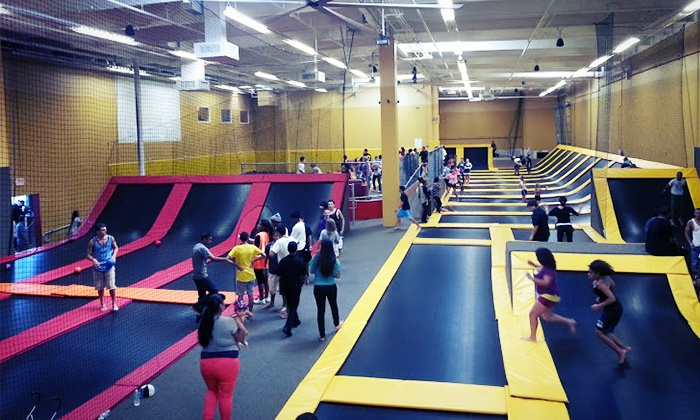 Jump Highway - Fairfield: Two-Hour Indoor Jump Session for 2 or 4 at Jump Highway (Up to 43% Off)