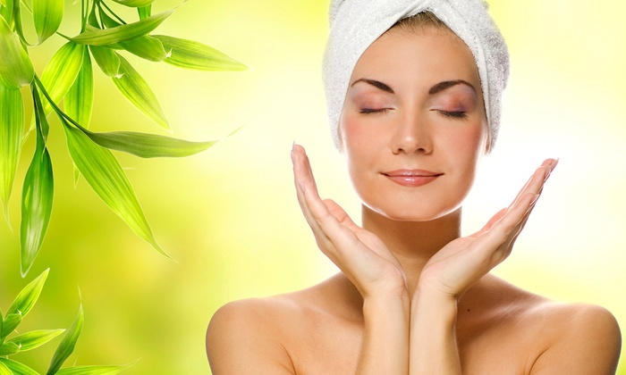 Heather Merrell at Liquid Salon and Spa - Highlands Ranch: $99 for a Microdermabrasion Facial, Mani-Pedi, and Massage at Liquid Salon and Spa ($235 Value)
