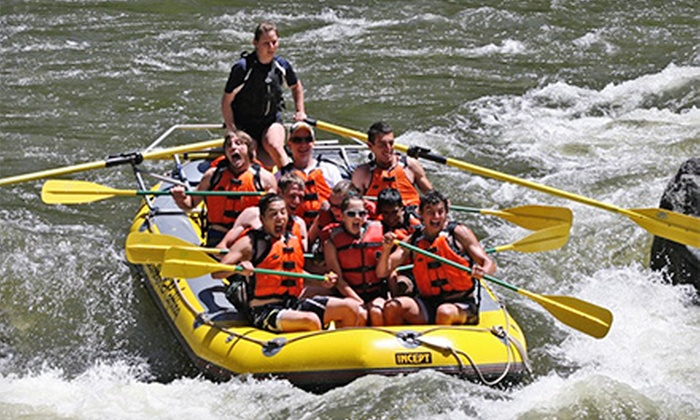 Whitewater Rafting - Glenwood Springs: Three-Hour Whitewater Rafting Trip for Two or Four with Photo CDs at Whitewater Rafting (Up to 59% Off)
