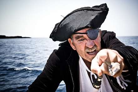 One-Hour Pirate Cruise for Two or Four from Dark Star Pirate Cruises (Half Off)