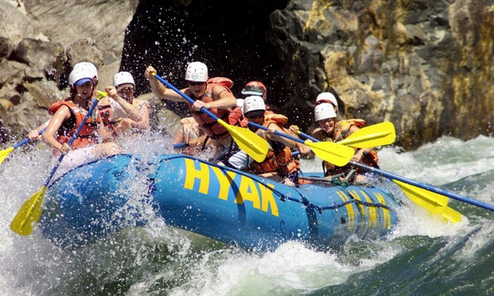 Hyak River Rafting - Hyak River Rafting: Fantasy Island Two-Day Rafting Getaway for One, Two, or Four from Hyak River Rafting (Up to 46% Off)