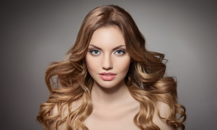 Haircut and Style with Blow Dry, Color, or Full or Partial Highlights at Hairnovation Salon (Up to 55% Off)