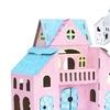 Build and Color Cardboard Mansion