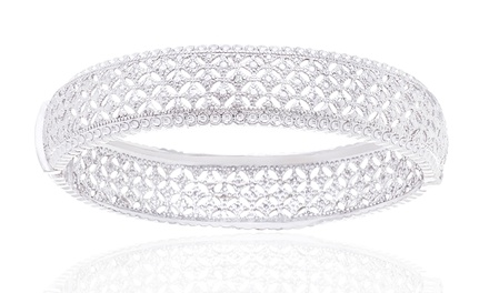 Diamond Accent Bangle Bracelet