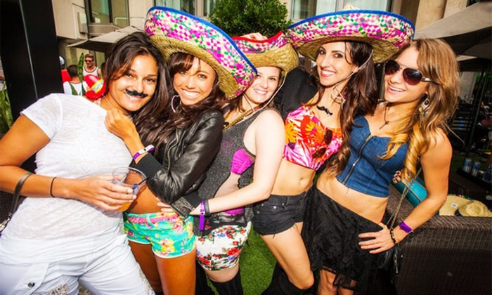 Carolina Nightlife - Whisky River at EpiCentre: Admission for 1, 2, or 4 to the Sombrero Bar Crawl on May 3 from Carolina Nightlife (Up to 47% Off)