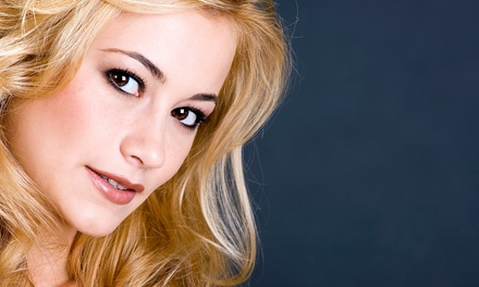 $25 for Haircut, Partial Highlights or Full Color, and Style at B & B Salon ($62 Value)