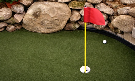 Mini Golf and Bowling for Two or Four with Pizza and Soda at Ship Wreck Miniature Golf (Up to 59% Off)