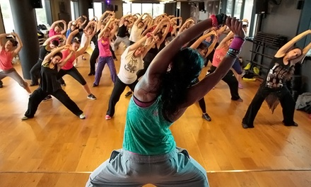 10 Yoga or Fitness Classes at CCPlus @ The Center (Up to 66% Off)