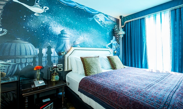 Bangkok broadway themed hotel for Broadway themed bedroom ideas