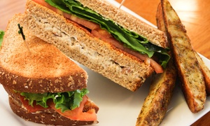 The Ark Cafe: Vegan Sandwiches and Fast Food or Takeout at The Ark Cafe (Up to 38% Off)