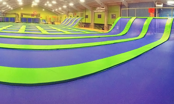 Jumping World - Memphis - Memphis: Indoor Trampoline Sessions at Jumping World - Memphis (Up to 50% Off). Two Options Available.