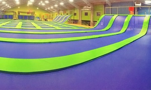 Jumping World - Memphis: Indoor Trampoline Sessions at Jumping World - Memphis (Up to 50% Off). Two Options Available.