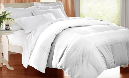 All Cotton Down-Blend White Comforters from $39.99—$69.99