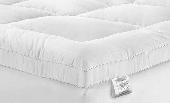 1000GSM Memory Microfibre Mattress Topper - Single ($49), King Single ($59), Double ($69), Queen ($79) or King ($89)
