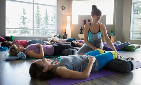5 or 10 Yoga Classes at Health & Wellness Geek (Up to 51% Off)