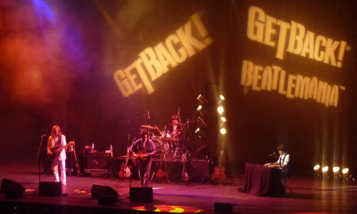 """Get Back! The Beatles Laser Experience Live! - Carnegie Library Music Hall: """"Get Back! The Beatles Laser Experience Live!"""" at Carnegie Library Music hall on Saturday, December 14 (Up to 49% Off)"""