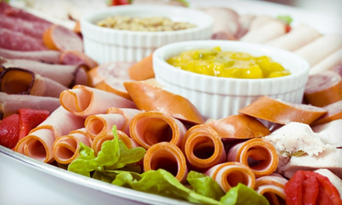 Party Platters Galore - Fells Point: $27.50 for $50 Worth of Appetizers, Wings, Sandwiches and Other Catered Food at Party Platters Galore