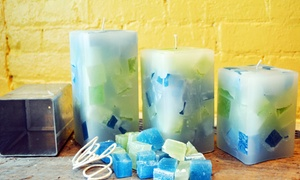 The Candle Collective: Candle-Making Session for Two or Candle-Making Birthday Party at The Candle Collective40% Off)