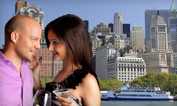 Singles Boat Party - Kips Bay: Four-Hour Singles Cruise Around Manhattan for One or Two from Singles Boat Party (Up to 65% Off)