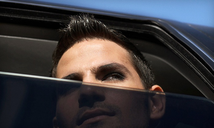 Redline Motorwerks - Castleton: $129 for Car Window Tinting for Up to Four Side Windows and Rear Window at Redline Motorwerks (Up to $279.99 Value)