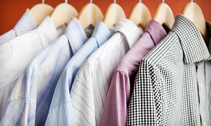Shelton Family Cleaners - Old - Multiple Locations: Dry Cleaning at Shelton Family Cleaners (Up to 60% Off). Three Options Available.