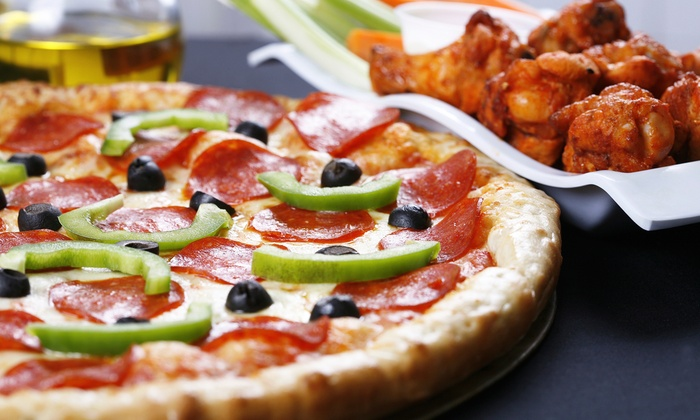 Rosati's Pizza - Casey Farms: Pizza and Wing Meal or $11 for $20 Worth of Pizza and Non-Alcoholic Drinks at Rosati's Pizza