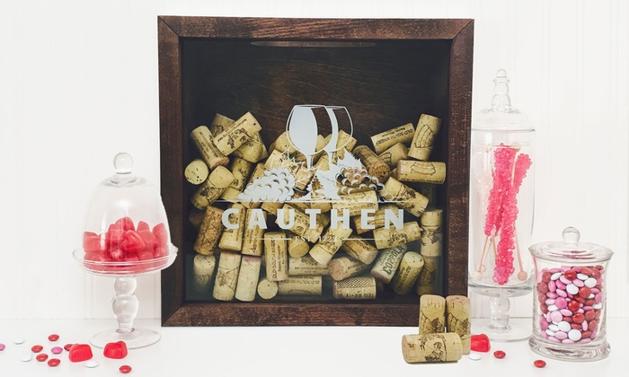 Personalized pillows deals coupons groupon image placeholder image for custom wine cork shadow box up to 56 off negle Choice Image