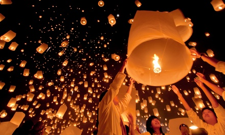 $19 for One Pass to The Lantern Fest at El Dorado State Park on Saturday, July 11 (Up to $40 Value)