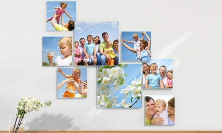 Three-, Five-, or Eight-Piece Personalized Photo to Acrylic Glass Collage from Pixtac.com (Up to 81% Off)