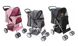 4-Wheel Pet Stroller