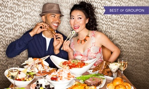 Spice Market Buffet (Planet Hollywood Las Vegas): Breakfast, Brunch, Lunch, or Dinner Buffet for Two or Four with Drinks at Spice Market Buffet (Up to 47% Off)