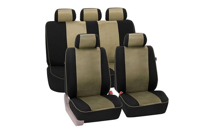Cloth Car Seat Cover Set 6pc Groupon Goods