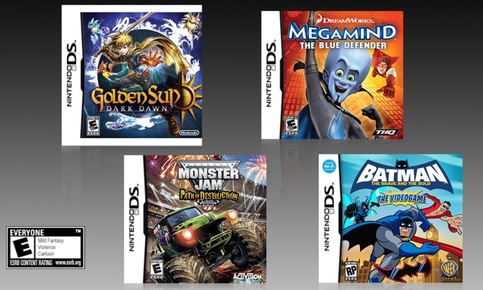 monster ds games
