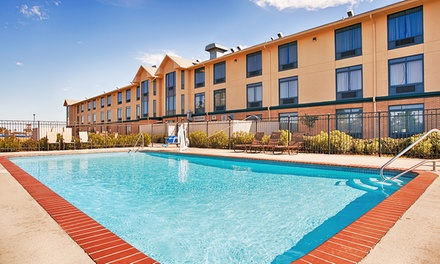Stay at Best Western Inn at Coushatta in Kinder, LA. Dates into May.