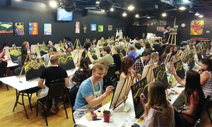 Texas U-Can-Paint: Two-Hour BYOB Adult Painting Class or Children's Painting Class for 1 or 2 at Texas U Can Paint (Up to 37% Off)