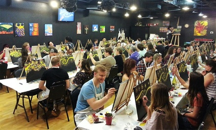 Two-Hour BYOB Adult Painting Class or Children's Painting Class for 1 or 2 at Texas U Can Paint (Up to 37% Off)